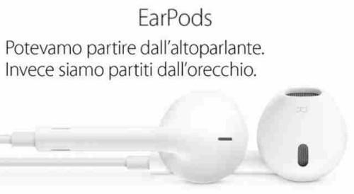 EarPods Apple manuale italiano e libretto duso download auricolari con telecomando e microfono