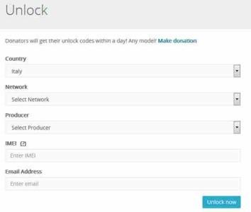Come Sbloccare telefono H3G TIM Vodafone Wind iPhone Samsung Nokia