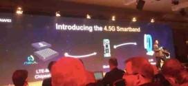 Huawei primo LTE 4.5 G Smartband 100 volte più veloce 4G
