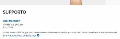 Galaxy S6 Samsung rimuove il manuale italiano dal sito