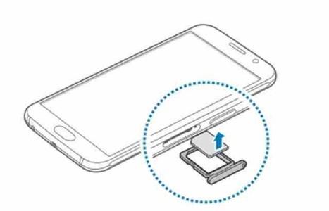 Galaxy S6 come si fa a togliere la scheda telefonica SIM