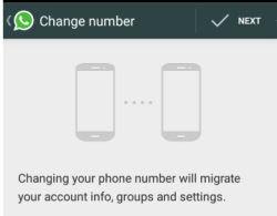 Whatsapp come modificare e cambiare il numero di telefono