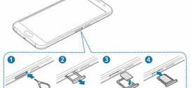 GALAXY S6 Come inserire la scheda telefonica SIM nel telefono