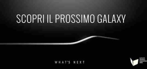 Samsung Galaxy S6 presentazione live TV diretta streaming