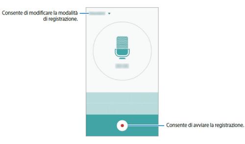 Galaxy S6 e Galaxy S6 Edge come registrare un promemoria vocale