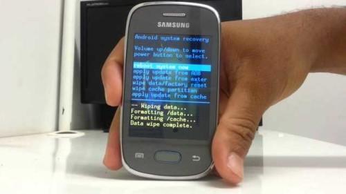 Formattare resettare Galaxy Pocket Neo come fare Hard Reset Samsung