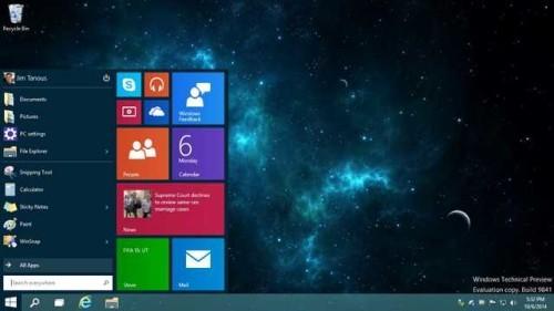 Tasto Menu Start Windows 10 come abilitare guida e istruzioni