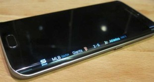 Galaxy S6 Edge dispaly nero LED lampeggia blu