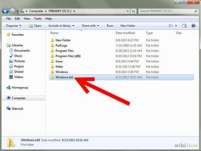 Windows 10 cancellare cartella Windows.old e aumentare spazio
