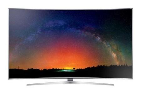 TV SUHD 4K Curvo Smart JS9500 Serie 9 Samsung manuale italiano PDF