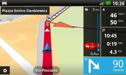 TomTom Italia v14 con Mappa 9556746 PDI e Autovelox apk ITA