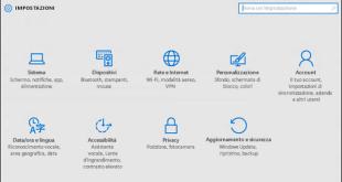 Windows 10 il menu impostazioni non si apre - soluzione
