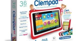 Natale 2015 Clementoni Clempad Android regalo giusto per il figlio