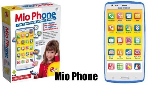 Natale 2015 Mio Phone Android regalo giusto per il figlio