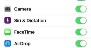 iPhone icona fotocamera mancante su dopo aggiornamento
