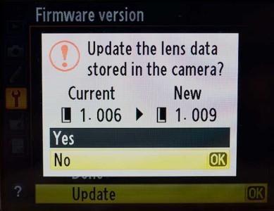 Nikon come aggiornare firmware macchina fotografica reflex