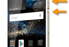 Screenshot Huawei G8 catturare immagine di una schermata