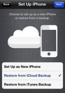 Ultimo backup non è stato completato Errore backup icloud iOS