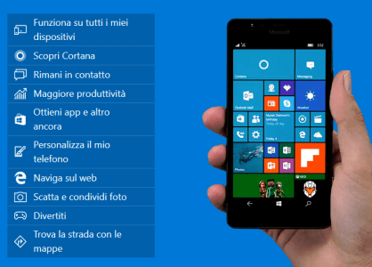 Emulatore Windows 10 Mobile in anteprima