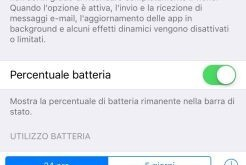iPhone 6S come attivare la funzione risparmio energia