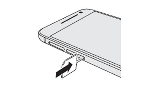 HTC A9 come si mette la scheda sim nel telefono