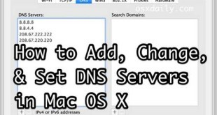 Come modificare DNS Server su Mac OS X