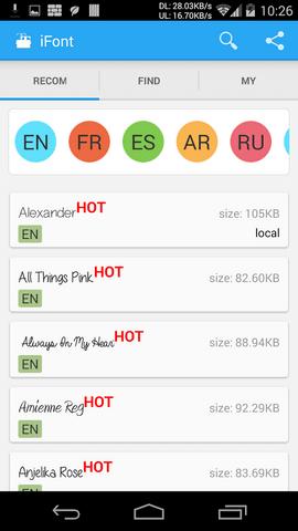 Huawei P8 come cambiare carattere e dimensione font