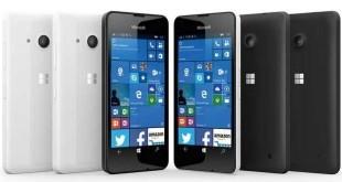 Manuale Lumia 550 Libretto istruzioni Pdf