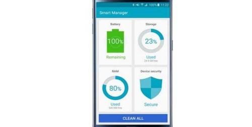 Galaxy S6 come disabilitare Smart Manager Anti Virus sul Samsung