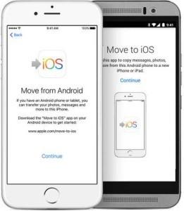 Passare da Android per iPhone in modo facile