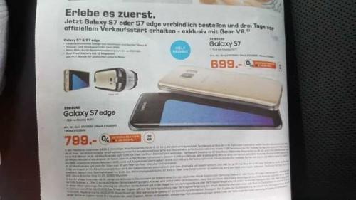 Galaxy S7 Prezzo Italia del telefono Samsung