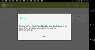 Samsung Galaxy S6 RPC: S-5: AEC 0 messaggio errore