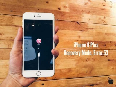 iPhone errore 53 come risolvere