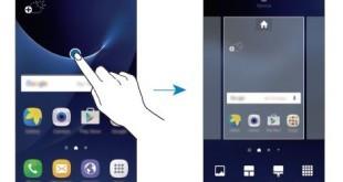 Aggiungere un Widget o modificare foto sfondo Galaxy S7 Samsung