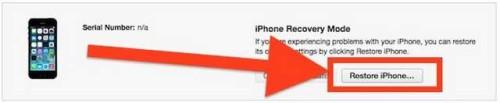 Downgrade iOS 93 a iOS 921