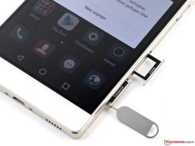Huawei P8 La scheda SIM telefonica e Micro SD non si estrae