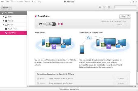Istruzioni usare LG PC Suite per LG G5 Guida all uso
