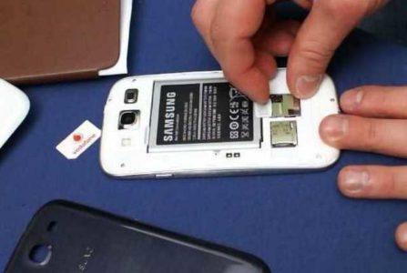 Telefono non legge SIM telefonica non si connette alla rete