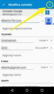 Come aggiungere foto su contatto Galaxy S7 Samsung
