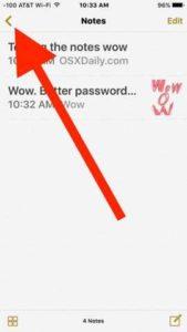 Iphone iPad Come recuperare le Note cancellate