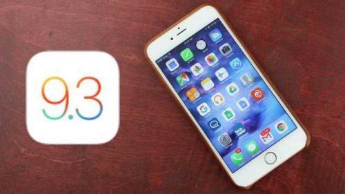 iOS 93 impossibile fare il Downgrade