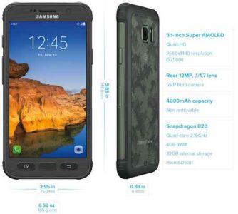 Galaxy S7 Active foto video e caratteristiche