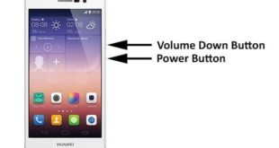 Huawei P9 Plus catturare contenuto schermo Screenshot