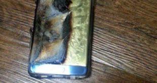 Samsung Galaxy Note 7 la batteria esplode durante la ricarica