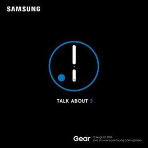 Samsung Gear S3 caratteristiche data presentazione