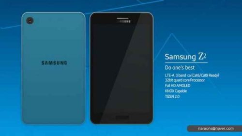 Samsung Z2 smartphone Tizen prezzo Basso