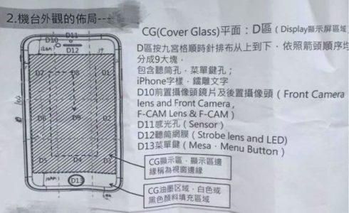 iPhone 7 arriva manuale istruzioni e schemi da documenti interni