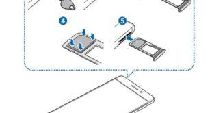 inserire scheda telefonica galaxy note 7
