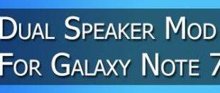 Galaxy Note 7 Attivare doppio altoparlante