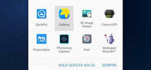 Galaxy S7 Come resettare Apri con su Samsung